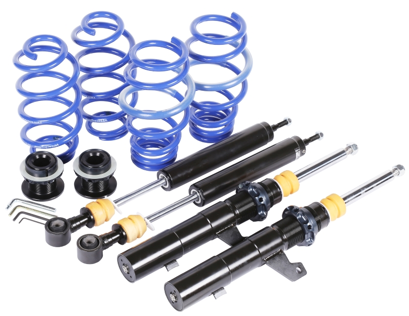 VWR STREETSPORT COILOVER SUSPENSION KIT VW Golf 6 R / Golf 5 R32 / Audi S3 8P / Audi TTS 4WD Only - Fixed Damping