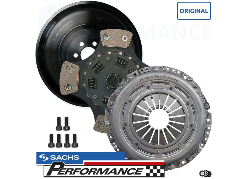SACHS Motorsports Complete Motorsports Clutch Kit with light one mass flywheel (7,2kg) 600+NM (GOLF MK4 R32 QUATTRO)