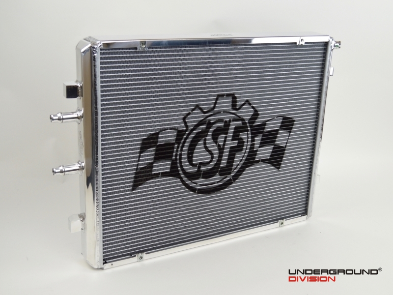 CSF RACE BMW F8X M2C/M3/M4 - FRONT MOUNT HEAT EXCHANGER WITH ROCK GUARD - RACE VERSION