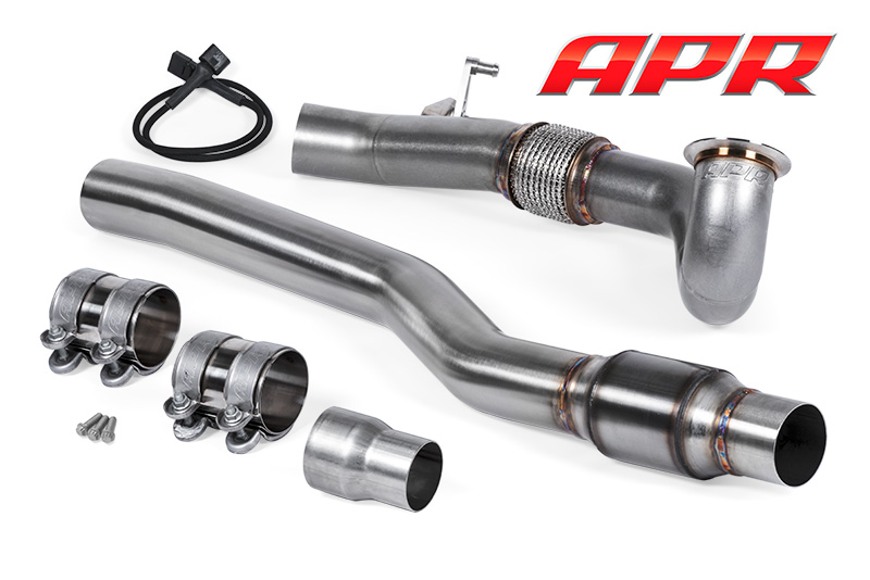 APR Cast Inlet Downpipe Exhaust System (AWD - 1.8T/2.0T)