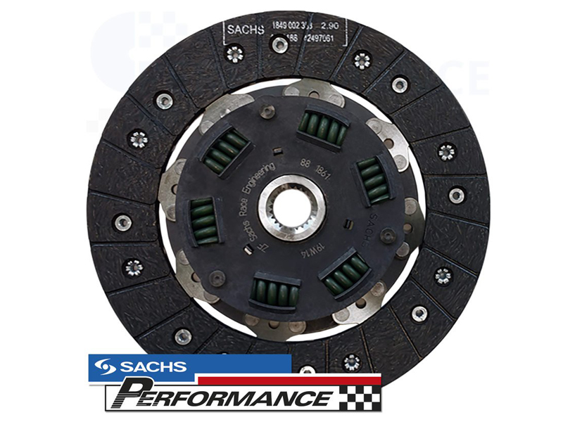 SACHS Performance Clutch Disc Organic 228MM (420NM) VAG 1.9TDI VP PD (5 SPEED MANUAL GEARBOX) - 881861.999793