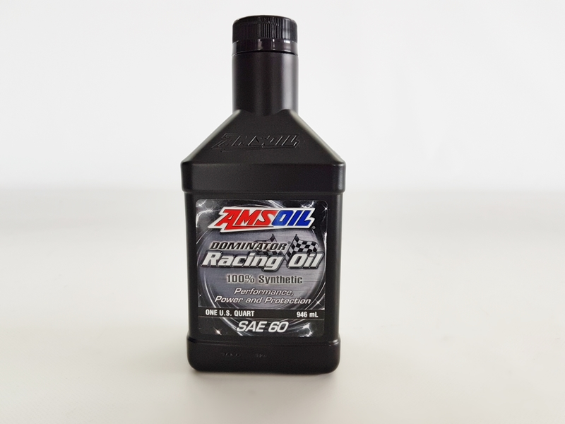 AMSOIL RD60 - DOMINATOR® SAE 60 Racing Oil (1/4 Gallon - 946ml)