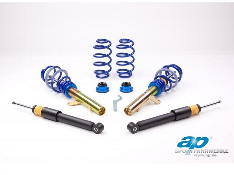 AP COILOVERS GF10-039 SEAT ALTEA 5P / AUDI A3 8P / VW GOLF V / AUDI TT 8J (FWD & 55MM STRUT DIAMETER) (Max. Axle Load VA-1060Kg HA-1150Kg)