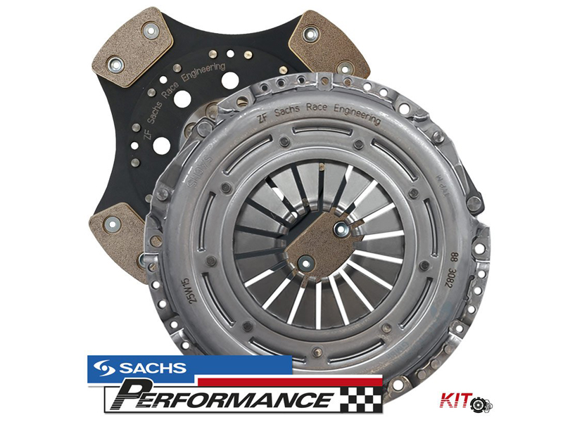 "SACHS Performance Clutch Kit - ""Racing"" 810+NM 2.0TDI / 2.0TFSI (ONLY FOR SACHS DUAL MASS FLYWHEEL)"