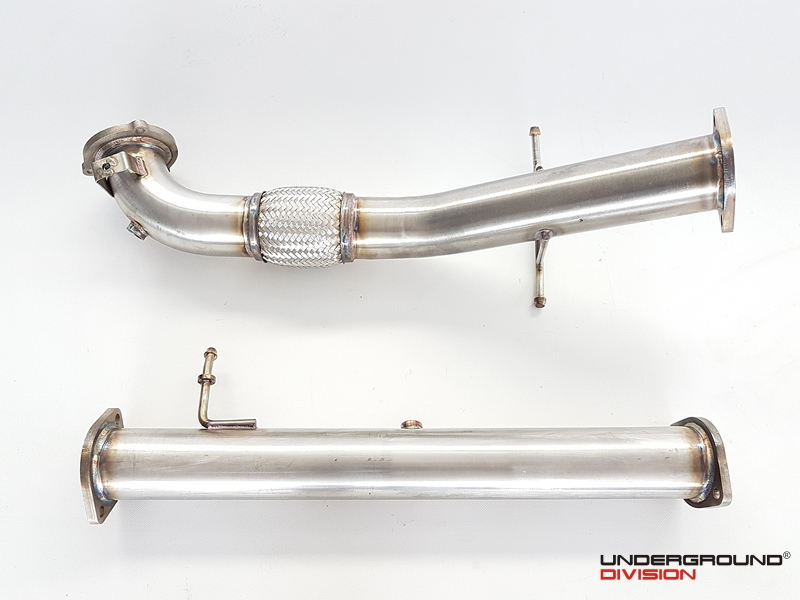 UD Downpipe FORD FOCUS RS MK2 2.5T 2009-2011