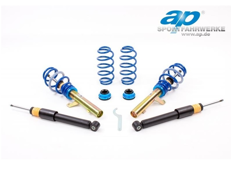 AP COILOVERS GF81-021 Seat Leon 1P / VW Golf MK6 (50mm Strut) (Max. Axle Load VA-1060Kg HA-1000Kg)