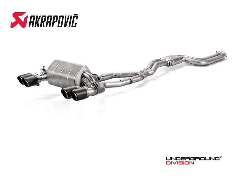 Akrapovic BMW M2 Competition  Evolution Line Titanium Exhaust