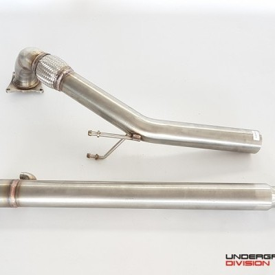 UD Downpipe for VAG 2.0TSI/TFSI QUATTRO 4MOTION Only