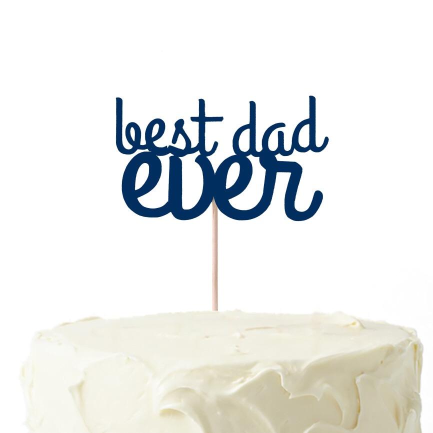 Topo BEST DAD EVER