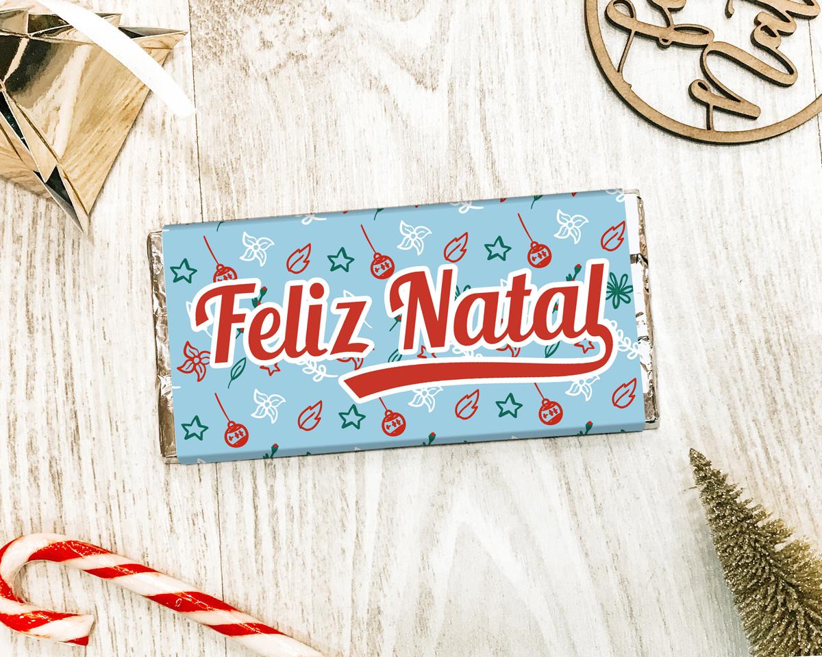 CHOCOLATE DE NATAL - FELIZ NATAL