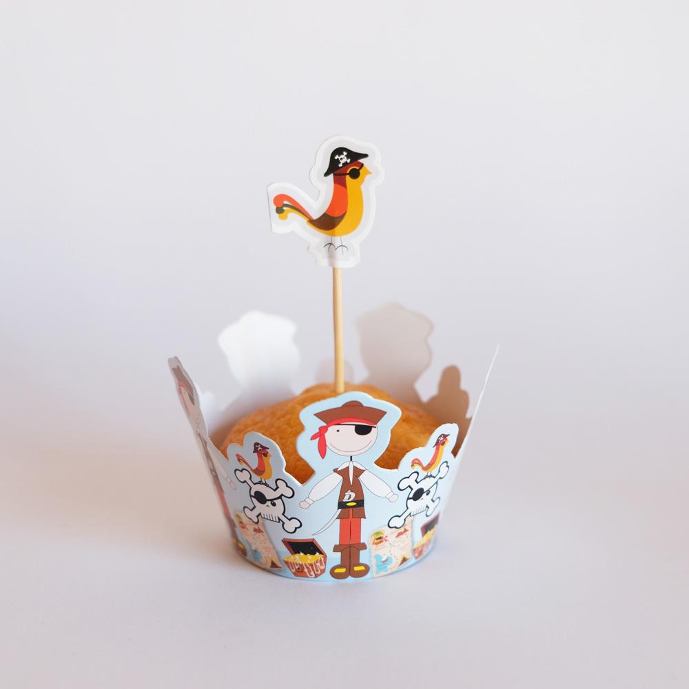 Cupcake PIRATAS