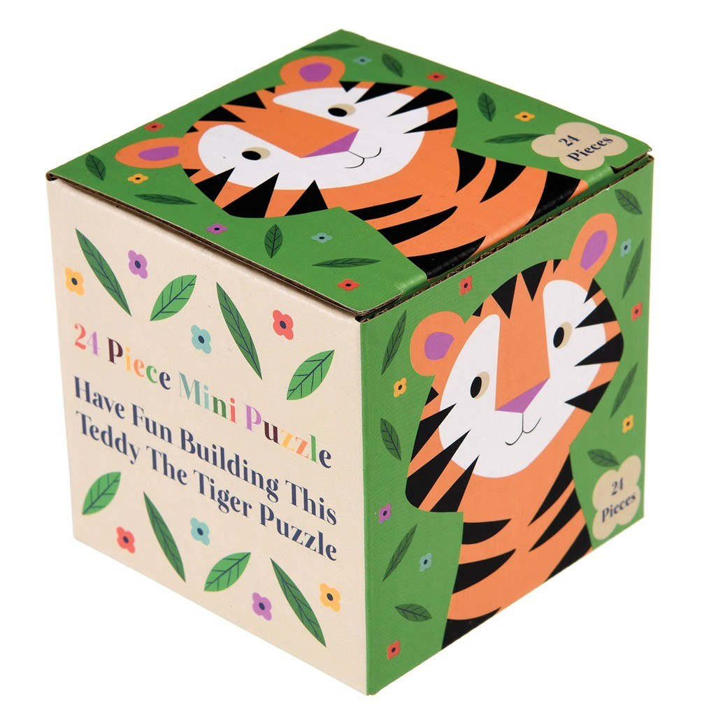 PUZZLE TEDDY THE TIGER