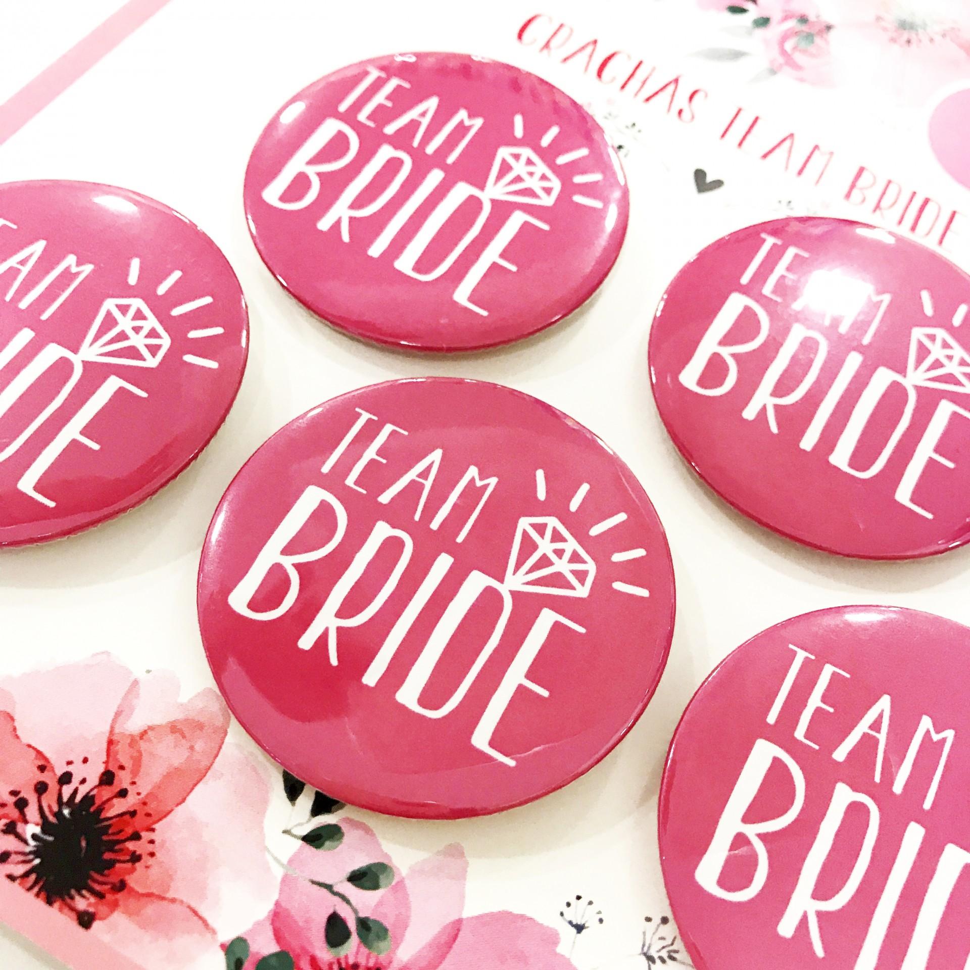 Crachás TEAM BRIDE