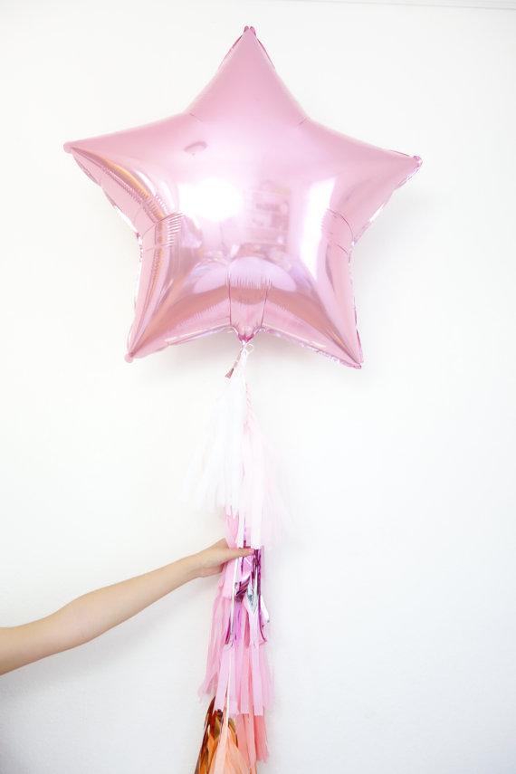 Balão ESTRELA BRANCO