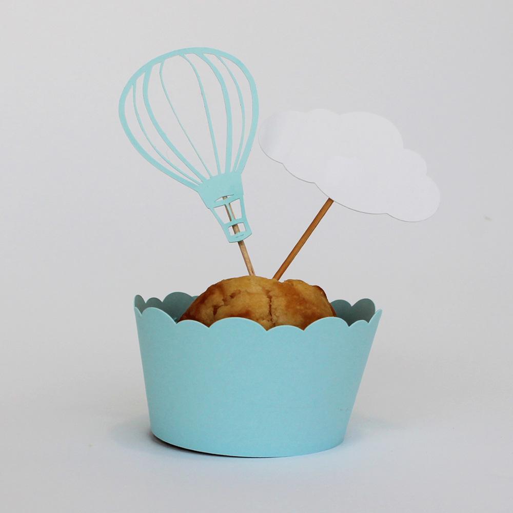 Cupcake BALÃO AR QUENTE