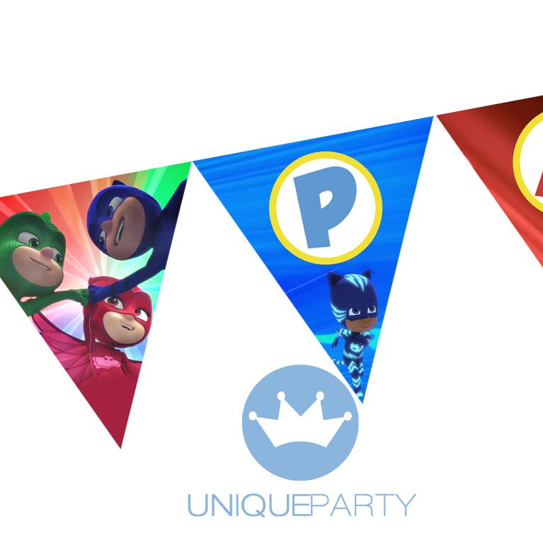 Bandeira PJ MASKS