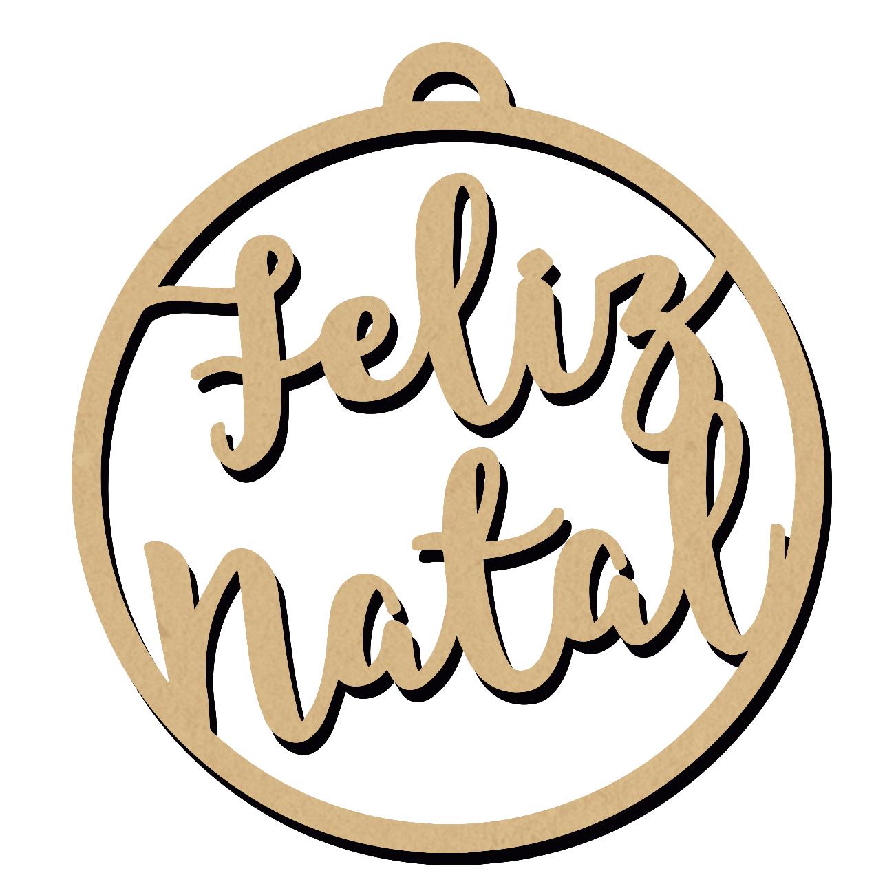 ENFEITE DE NATAL - FELIZ NATAL