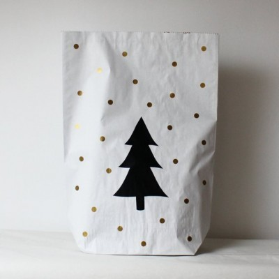 Saco de Papel - SNOW TREE