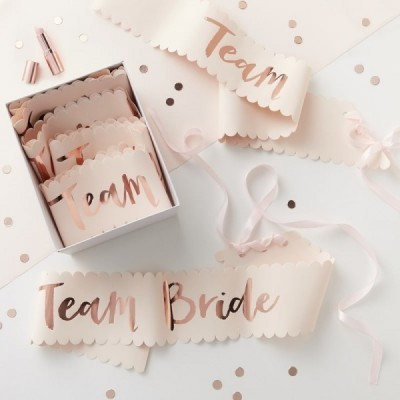 "Faixas ""TEAM BRIDE"""