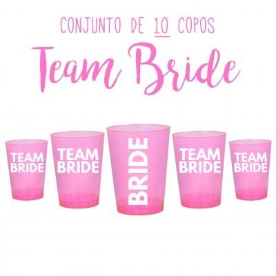COPOS TEAM BRIDE - DESPEDIDA DE SOLTEIRA