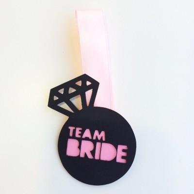 Crachá TEAM BRIDE