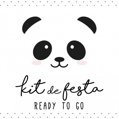 Kit de Festa READY TO GO - PANDA