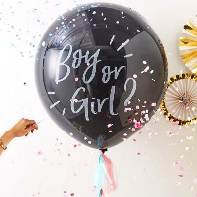 KIT DE REVELAÇÃO BÉBÉ - BALÃO BOY OR GIRL?