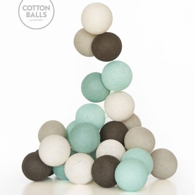 GRINALDA COTTON BALLS SEA SALT 20 BOLAS