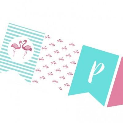 Bandeira Flamingo