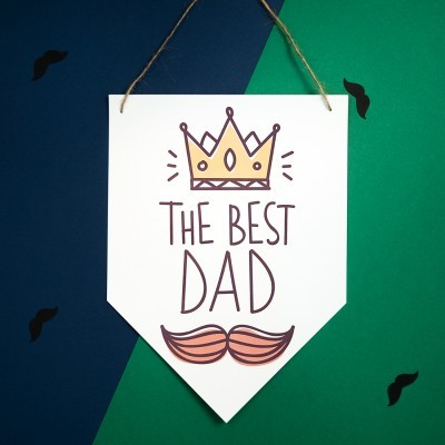 Bandeira DIA DO PAI - THE BEST DAD