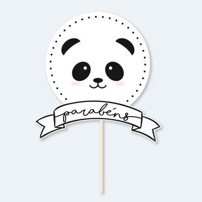 Topos de Bolo PANDA