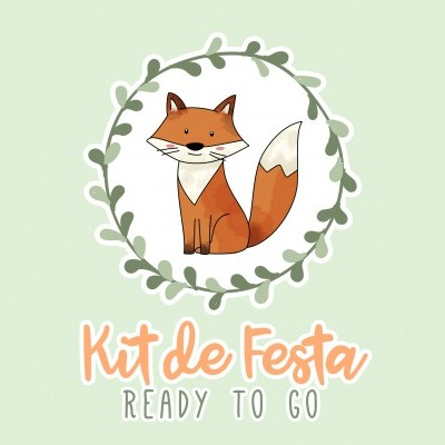 Kit de Festa READY TO GO - WOODLAND