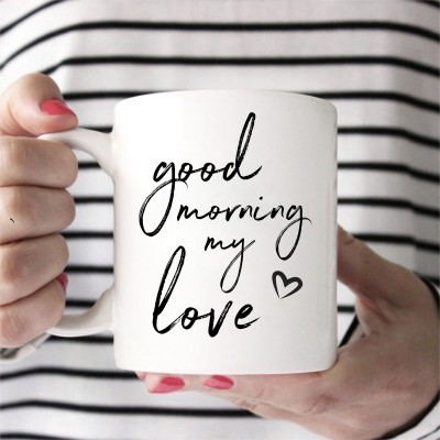 CANECA GOOD MORNING MY LOVE