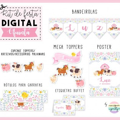 Kit DIGITAL - READY TO PRINT - QUINTA