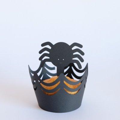 Cupcake ARANHAS - PRETO