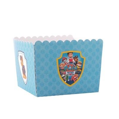 Caixa Pipocas - PATRULHA PATA azul