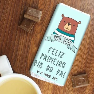 CHOCOLATE DIA DO PAI - PRIMEIRO DIA DO PAI