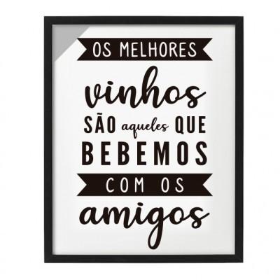 QUADRO DE ROLHAS / VINHOS