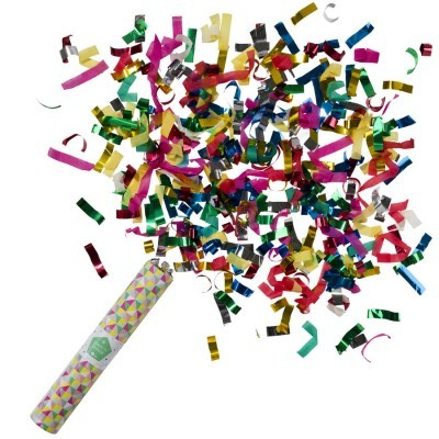 Tubo CONFETTIS - MULTICOR