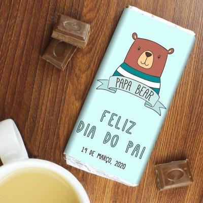 CHOCOLATE DIA DO PAI - PAPA BEAR