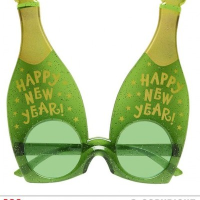 Óculos Garrafas de Champanhe