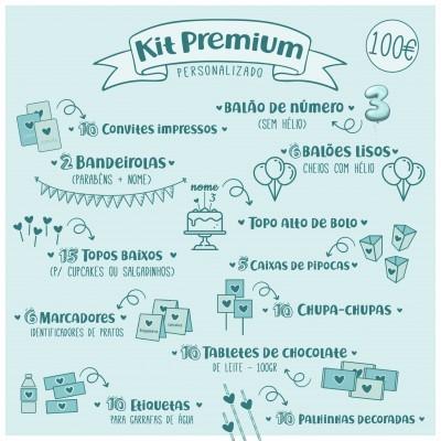 Kit de Festa Personalizado - KIT PREMIUM