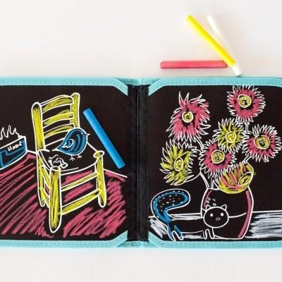 Doodle it Book Ardósia Van Gogh