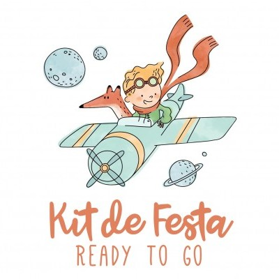 Kit de Festa READY TO GO - PRINCIPEZINHO