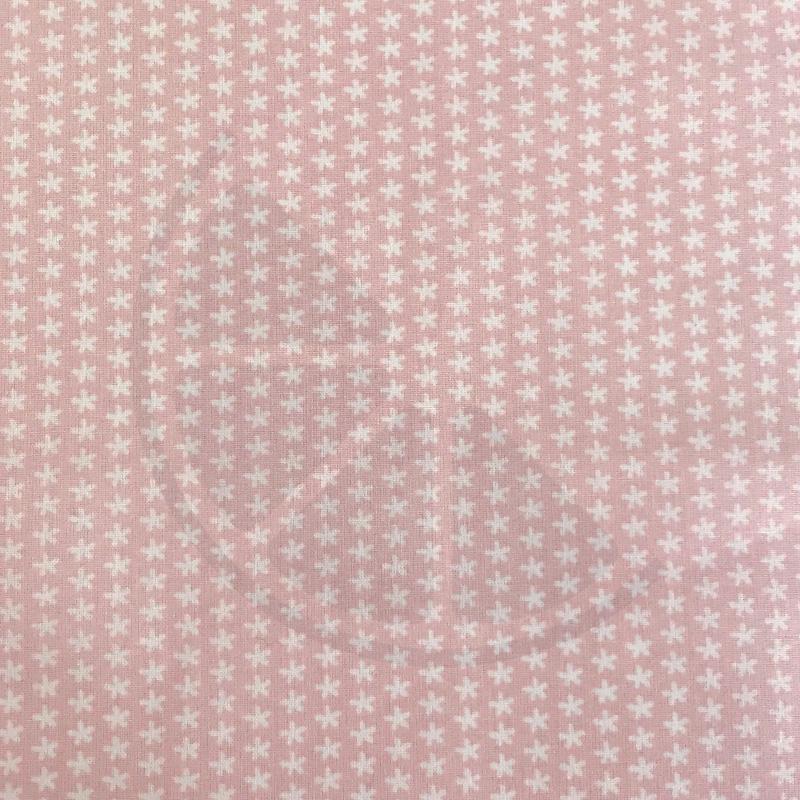 Asteriscos fundo rosa velho