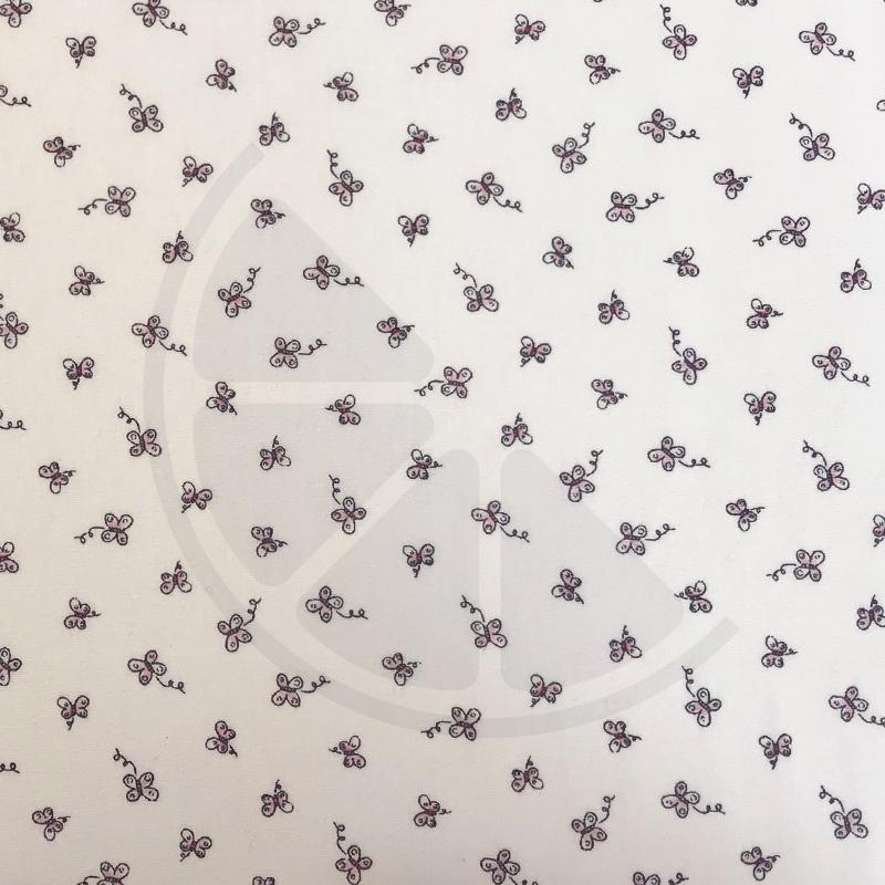 Baby Butterfly - Borboletas fundo branco