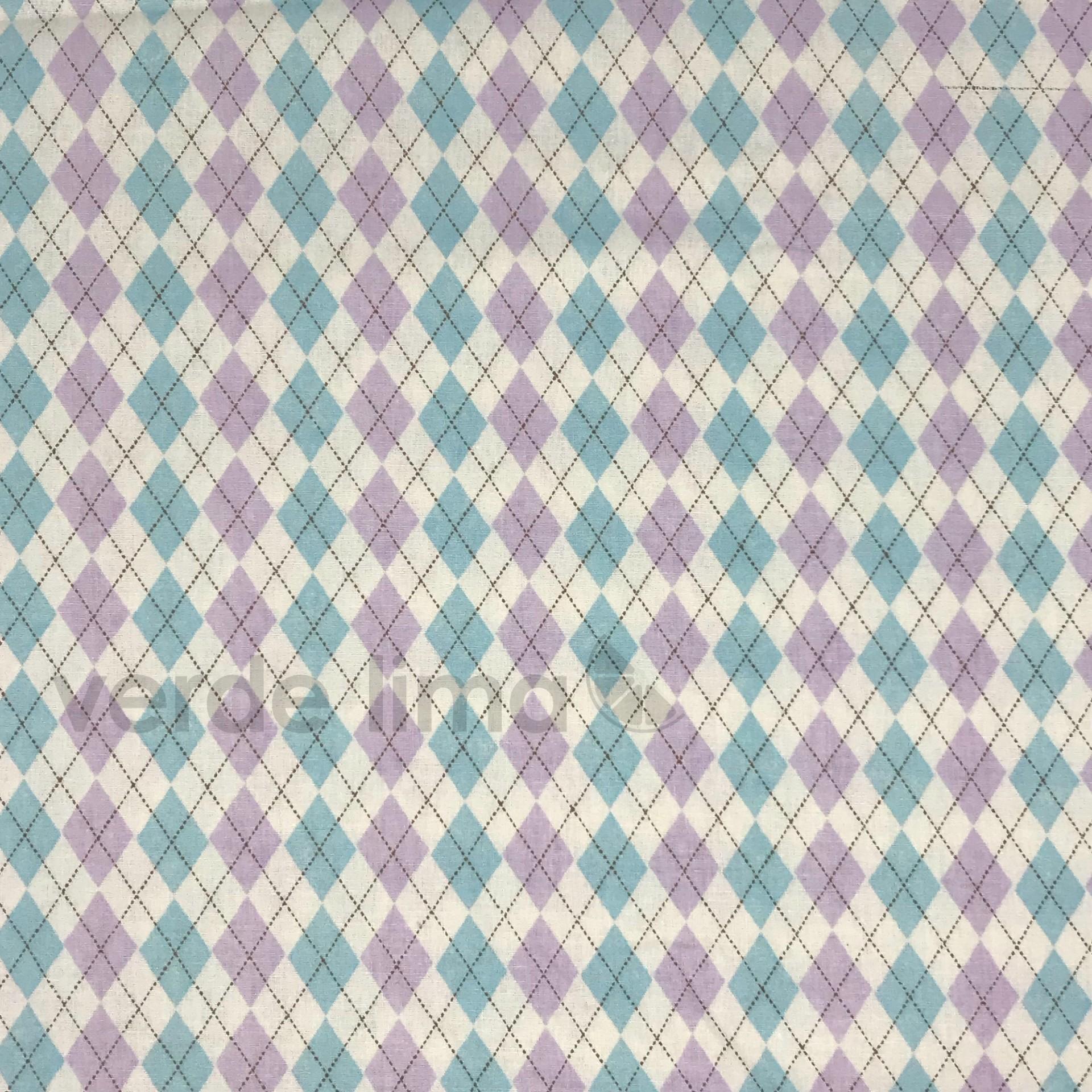 Balões Anita Catita - xadrez em lilás