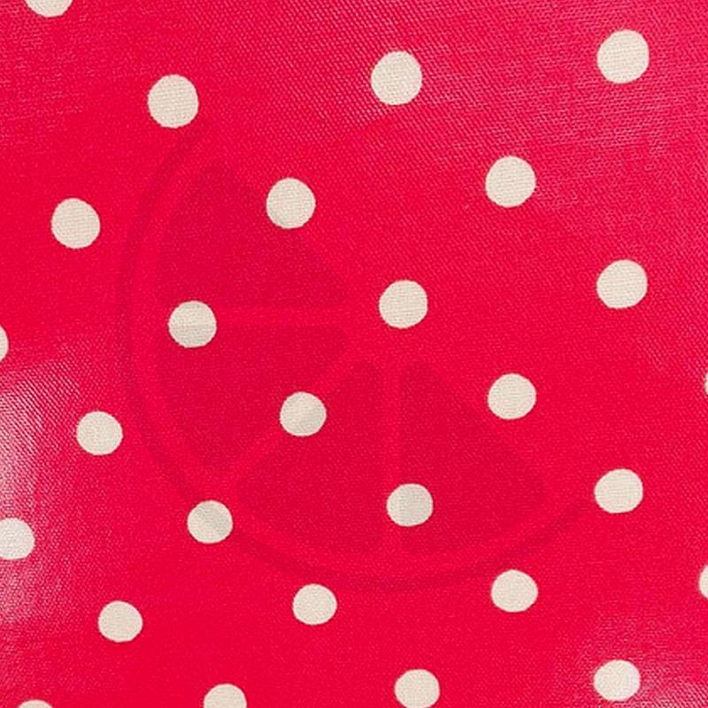 Bolas grandes fundo vermelho (plastificado)