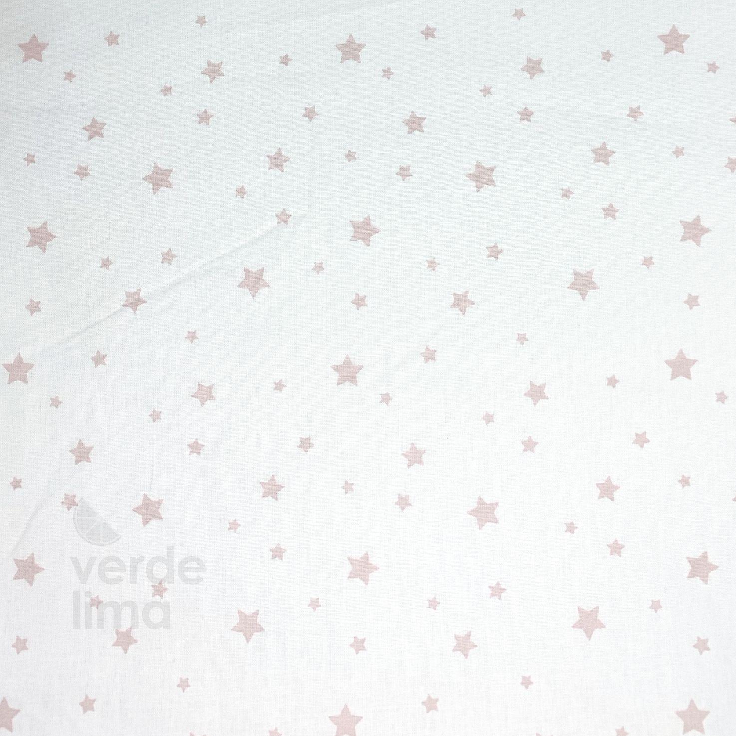 Estrelas rosa velho - fundo branco