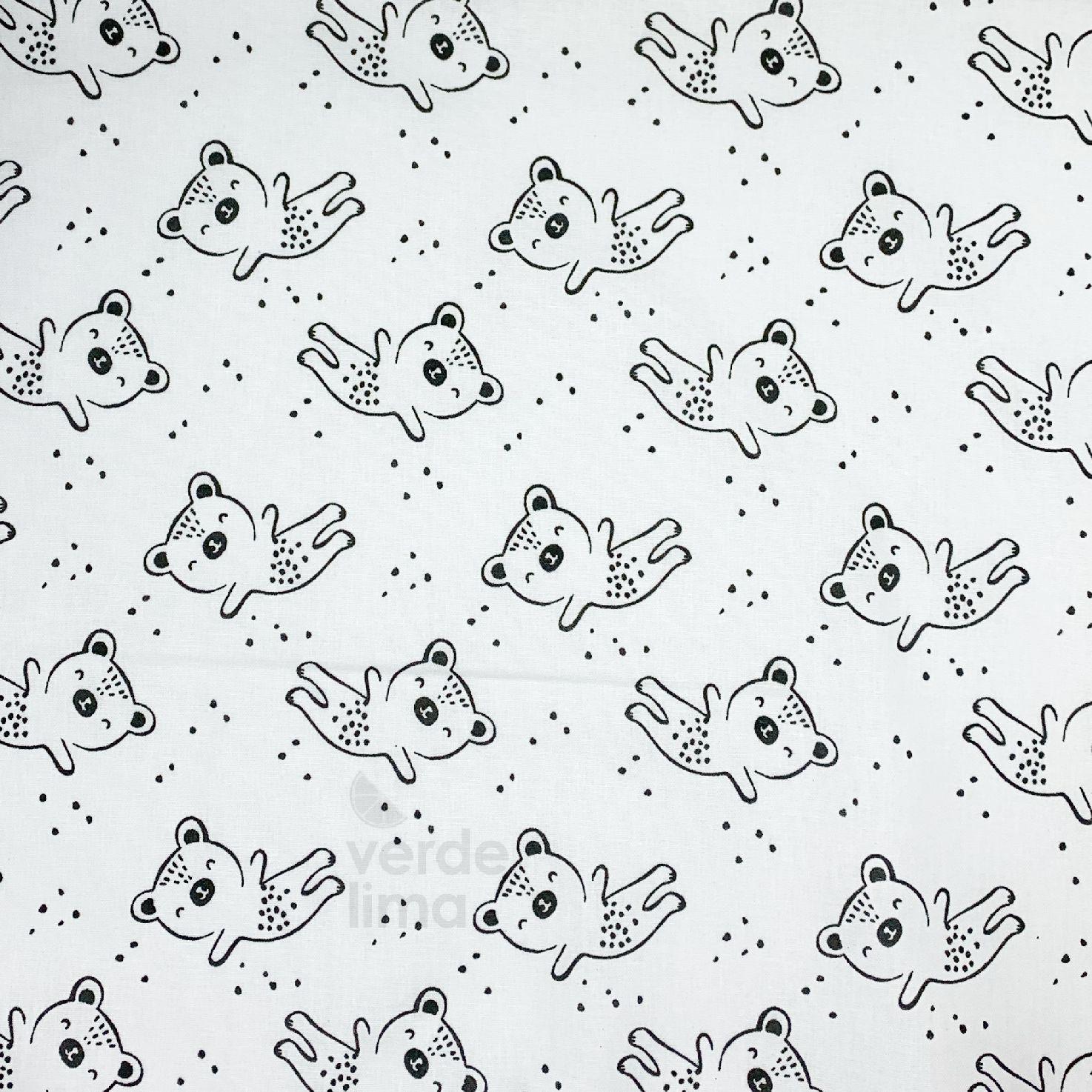 Astro kitty and friends - ursos fundo branco